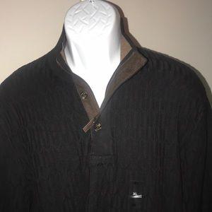 Tasso Elba men's sweater XL new